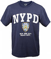 Официальная футболка Департамента Полиции Нью Йорка NYPD official license T-SHIRT - Navy Blue