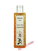 Отличный увлажнитель для кожи Масло Жожоба, Кхади / Jojoba oil, Khadi / 100 мл.