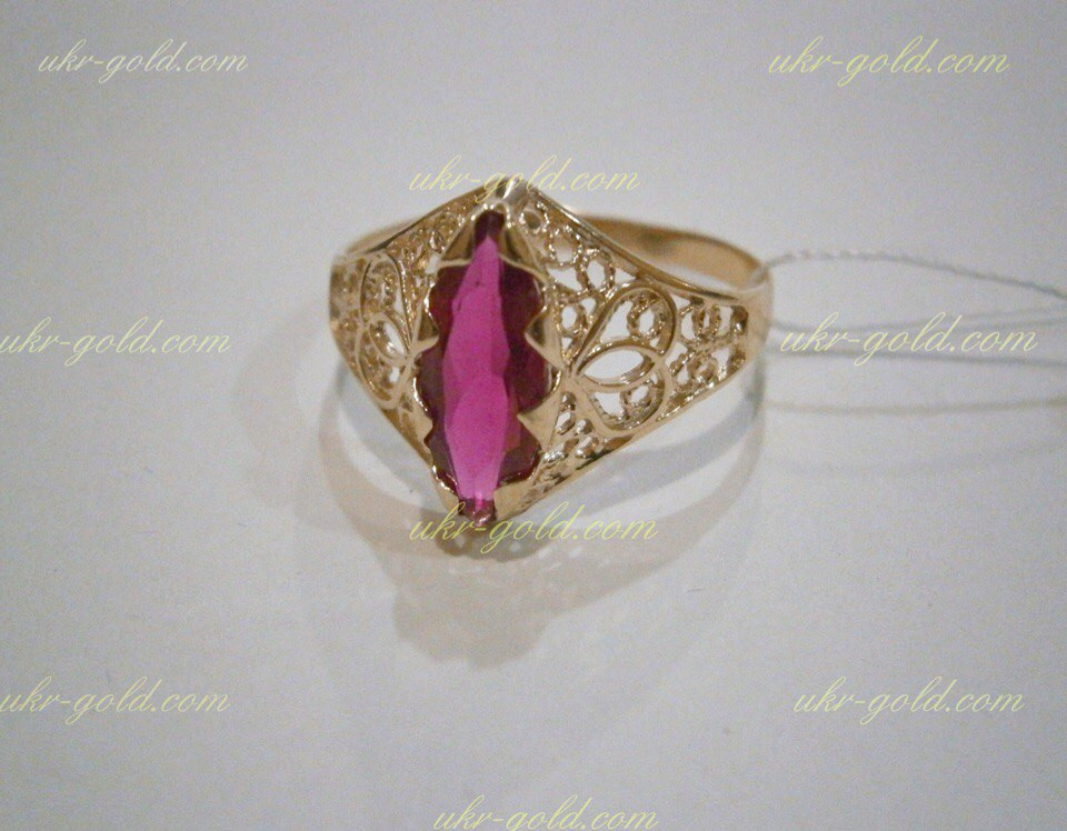 Золотое кольцо маркиз