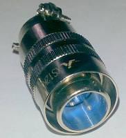 Разъем двухполюсный кабельный для кнопки TIG XS12K2P (штекер)
