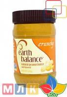 Earth Balance Натуральное арахисовое масло с льняным семенем, хрустящее, 453 г
