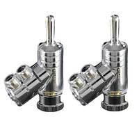 Atlas Коннекторы, разъёмы, переходники Atlas Expanding Rhodium plug