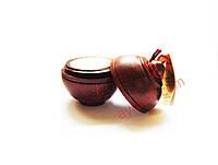 Сухие духи / ваниль / в баночке из дерева / 6 г