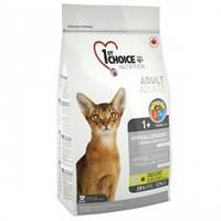 1st Choice HYPOALLERGENIC 2.72 кг - гипоаллергенный корм для кошек (утка/картофель)