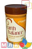 Earth Balance Натуральное арахисовое масло с льняным семенем, густое, 453 г