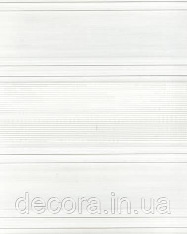 День-ніч міні Плісе зебра білий 2071, фото 2