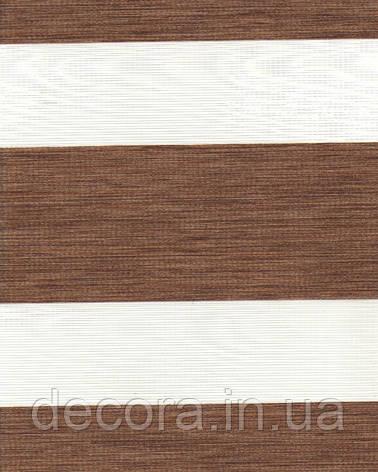 День-ніч міні Олімпос зебра коричневий 2067, фото 2