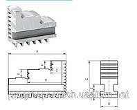 Кулачки прямые цельные калёные SJZ -CTOO-250 шаг 10мм