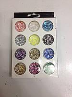 Декор шестигранники  разноцветные NDS12CL