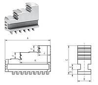 Кулачки обратные цельные калёные SJW -СТОО-250  шаг 10мм