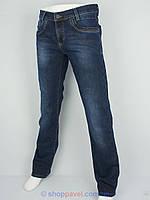 Стильные мужские джинсы X-Foot 140-1712 на флисе