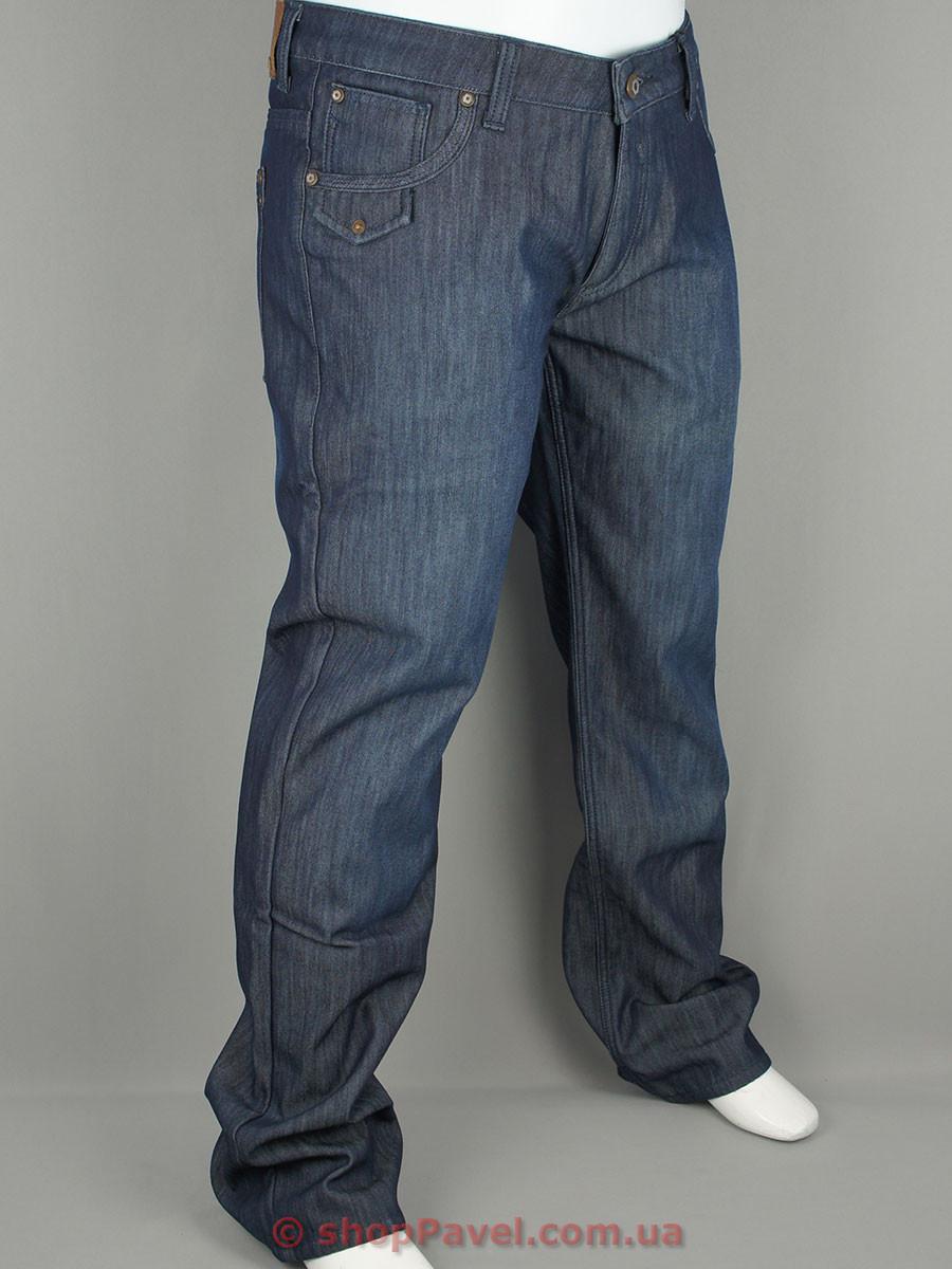 Мужские джинсы Climber 0003 в синем цвете на флисе