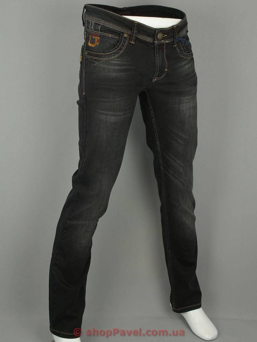 Мужские стильные джинсы Differ E-2123-3 SP.0630-13 в темно-сером цвете