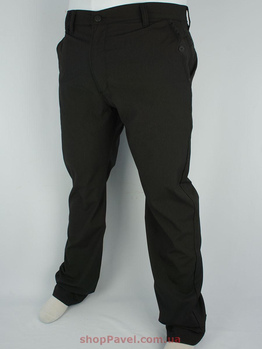 Мужские черные джинсы Cen-cor CNC-3044 BT#1 большого размера