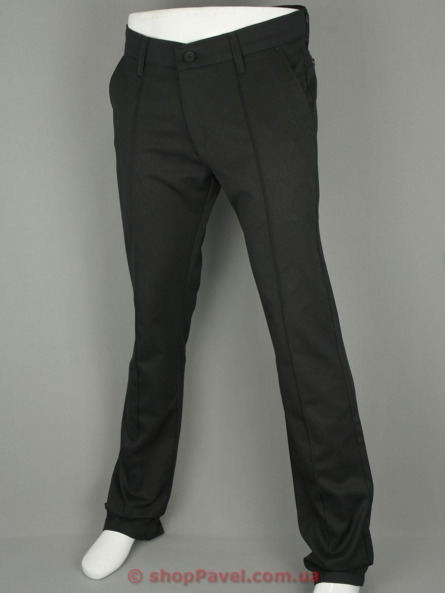 Стильные мужские джинсы X-Foot 160-1783 черного цвета