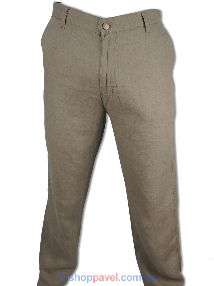 Мужские льняные джинсы Cen-cor CNC-3046 в болльшом размере