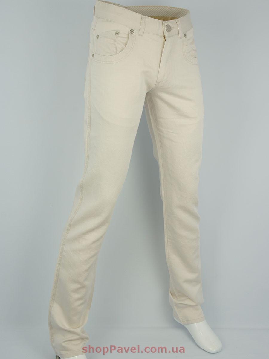 Мужские джинсы Rebels 1223-1 бежевого цвета