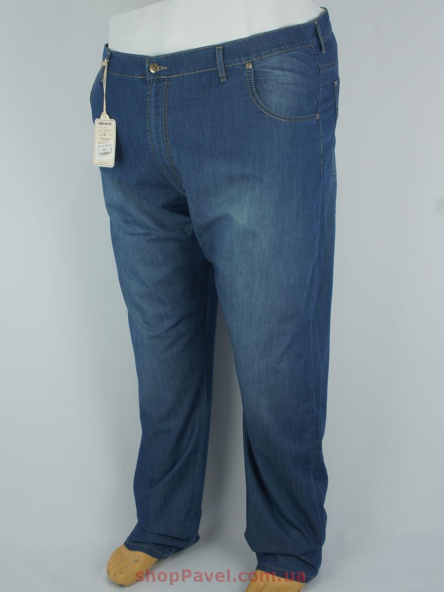 Синие мужские джинсы Dekons M-507 k-154 большого размера