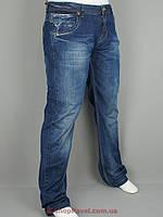 Синие мужские джинсы X-Foot 1362 большого размера
