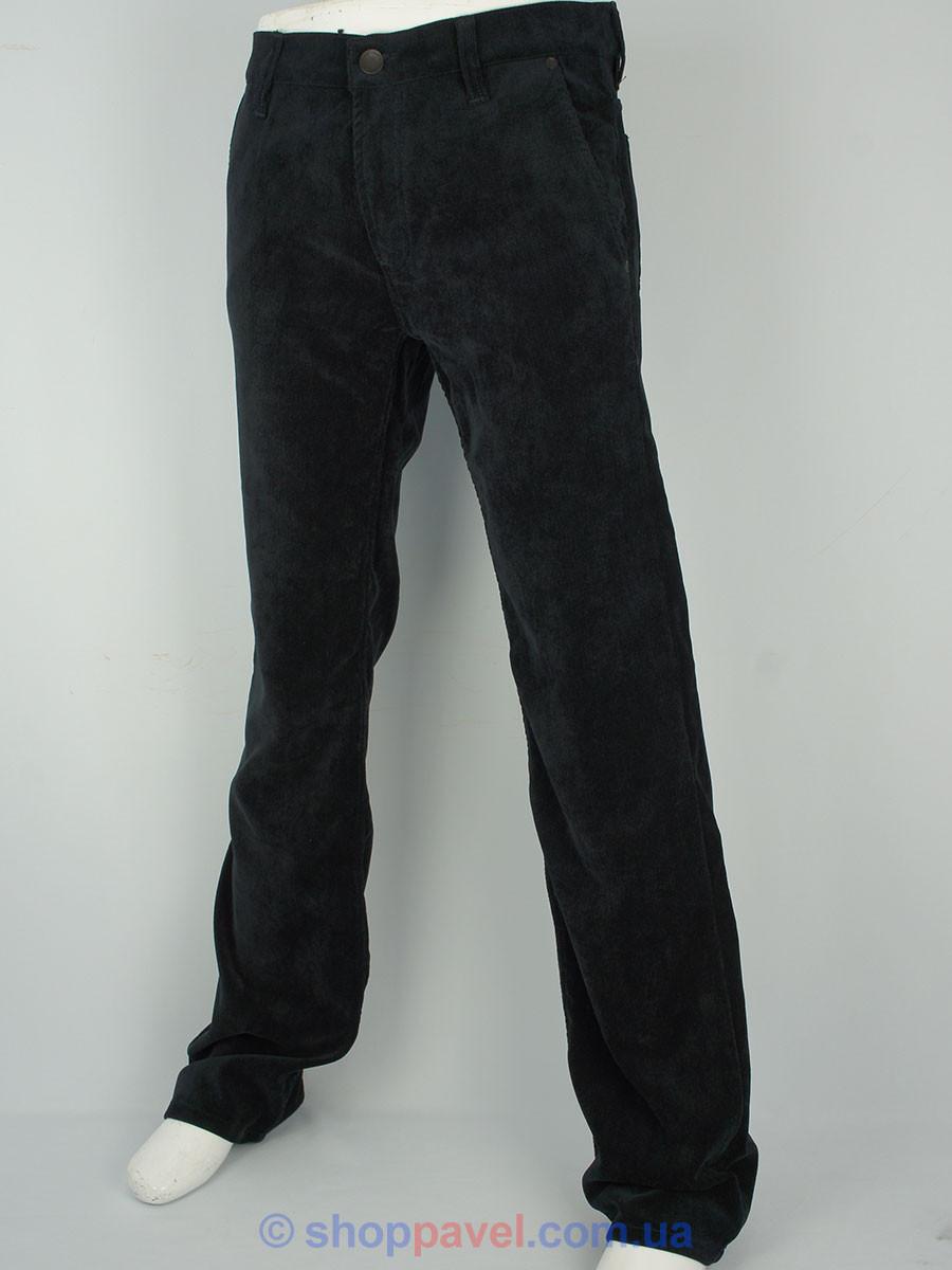 Мужские вельветовые джинсы Cen-cor MD-1027 в темно-синем цвете