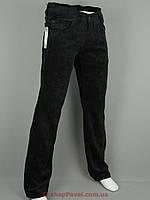 Мужские вельветовые джинсы Cen-cor MD-608 черного цвета