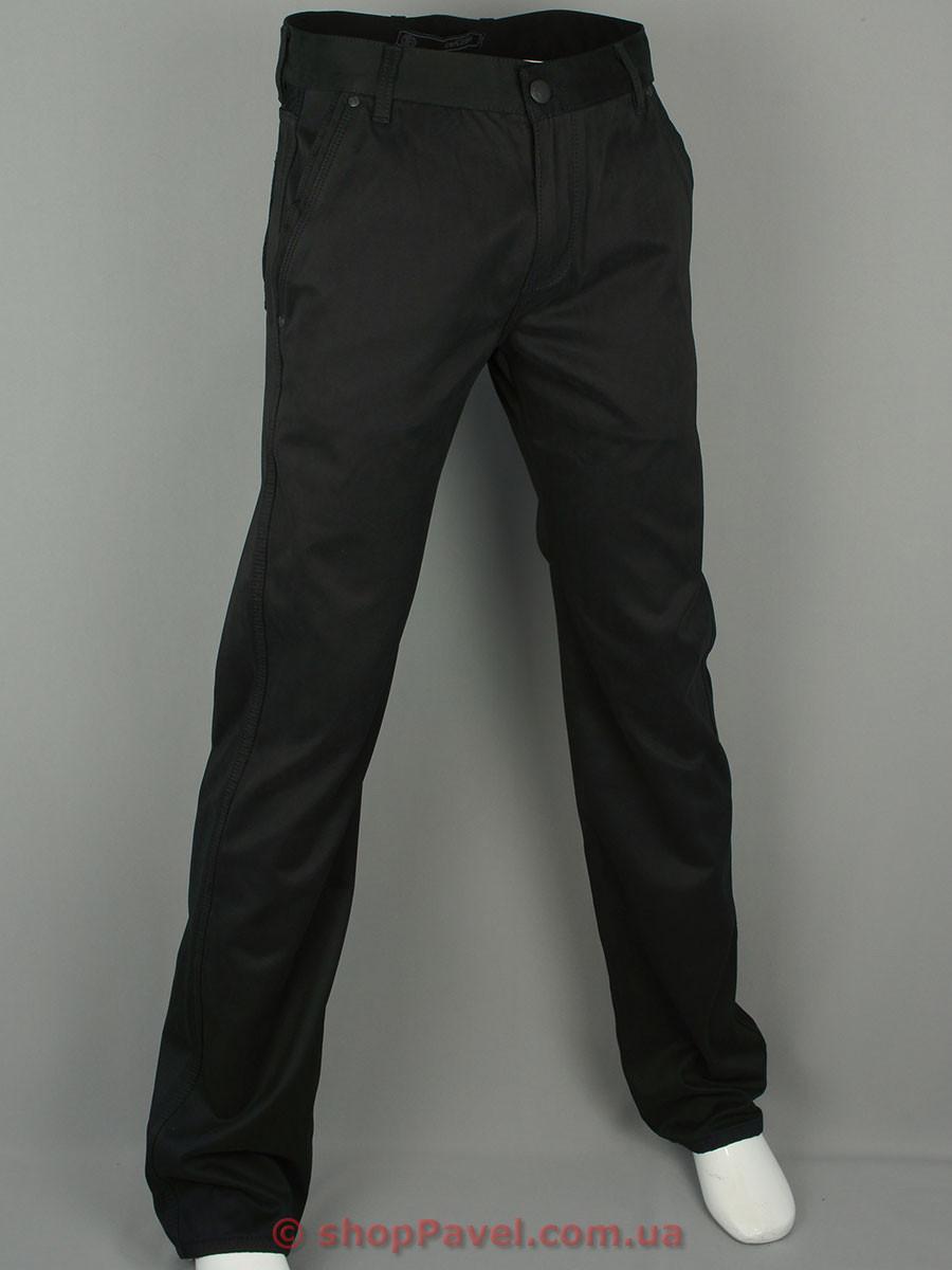Мужские брючные джинсы Cen-cor CNC-1090 черного цвета