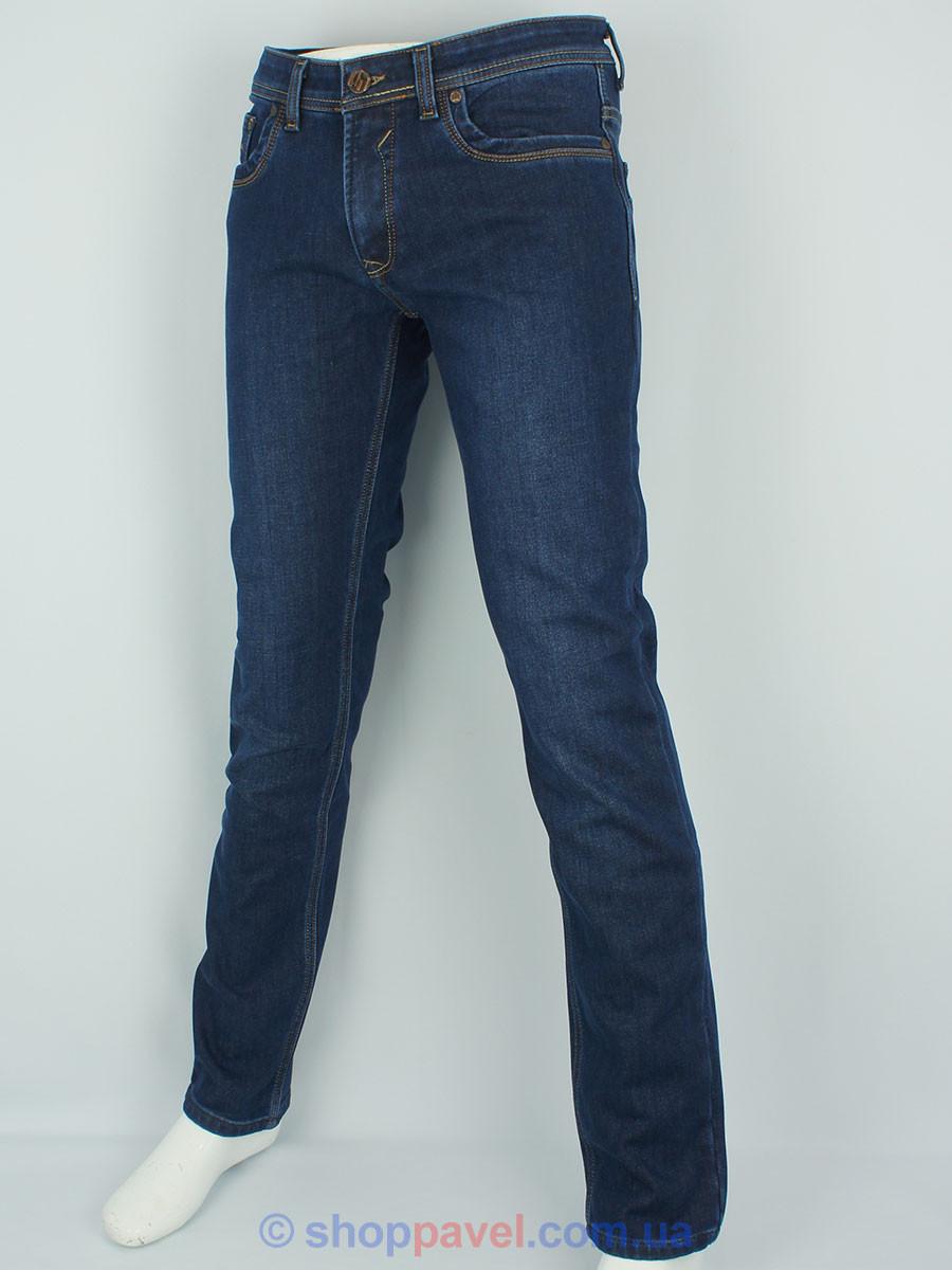 4e76c091c7b Утепленные мужские джинсы X-Foot 261-2203 темно-синего цвета для ...
