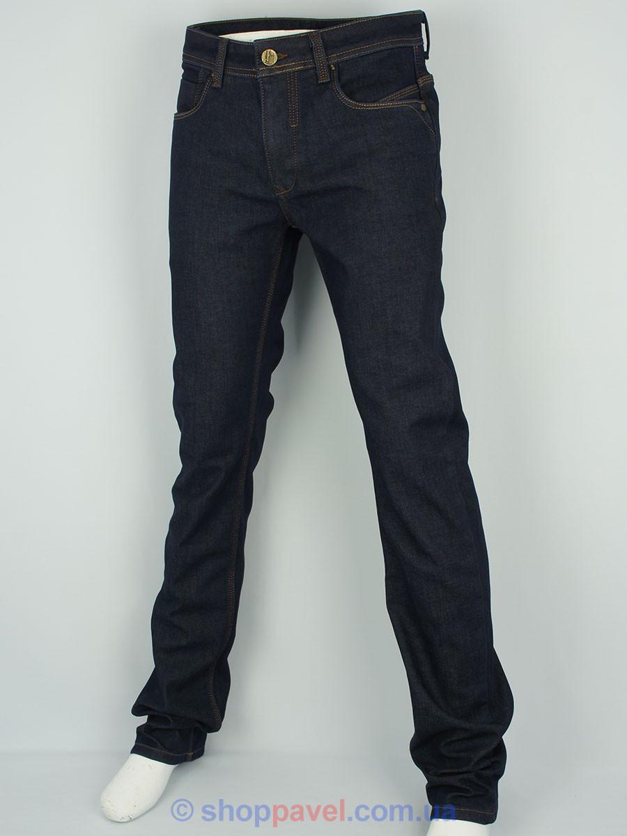 Зимние мужские джинсы X-Foot 140-2171 темно-синего цвета