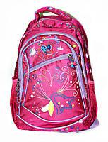 Рюкзак подростковый (школьный) 17327колокольчик розовый, рюкзак для школы, рюкзаки оптом,  дропшиппинг украина