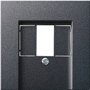 Панель TAE+Стерео+USB System 55 Антрацит Gira 027628