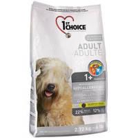 1st Choice (Фест Чойс) HYPOALLERGENIC - гипоаллергенный корм для собак (утка/картофель), 2.72кг