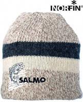 Шапка шерстяная с флисовой подкладкой SALMO 302744