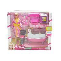 """Кукла с мебелью """"Ванная комната"""" LH031-2"""