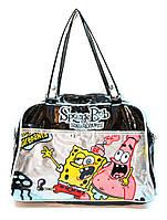 Сумка портфель детская Губка боб (3 цвета), сумка для учебы, сумки недорого, дропшиппинг