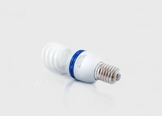 Лампа люминесцентная высокомощная  45Вт  4200К  Е40