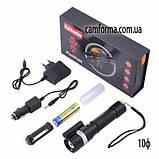 Фонарь Police 12V лазер zoom арт (ZY-R896-XPE) Ф10, фото 2