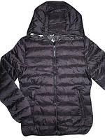 Двухсторонняя курточка с капюшоном для девочек, Glostory, размер.158/164. арт. GMA-3373