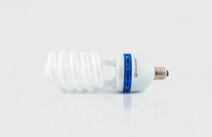 Лампа люминесцентная высокомощная  45Вт  4200К  Е27