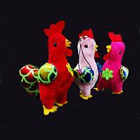Петушок - брелок, петушок игрушка новогодняя