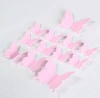 Эксклюзивные бабочки для декора нежно-розовый..