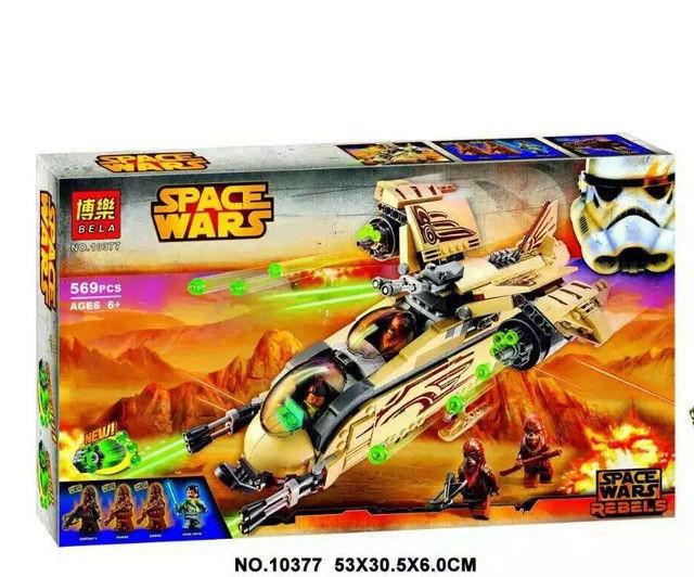"""Конструктор  Space Fights 10377  """"Боевой корабль Вуки"""" (569 деталей) Star Wars"""
