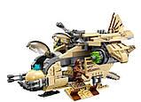 """Конструктор  Space Fights 10377  """"Боевой корабль Вуки"""" (569 деталей) Star Wars , фото 2"""
