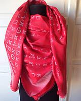 Палантин шарф женский шелковый Louis Vuitton с люрексом,  шикарный аксессуар