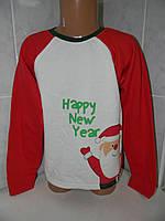 """Свитшот """"Санта"""", начес, р.98-104-110-116"""