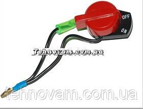 Выключатель для генератора и мотоблока