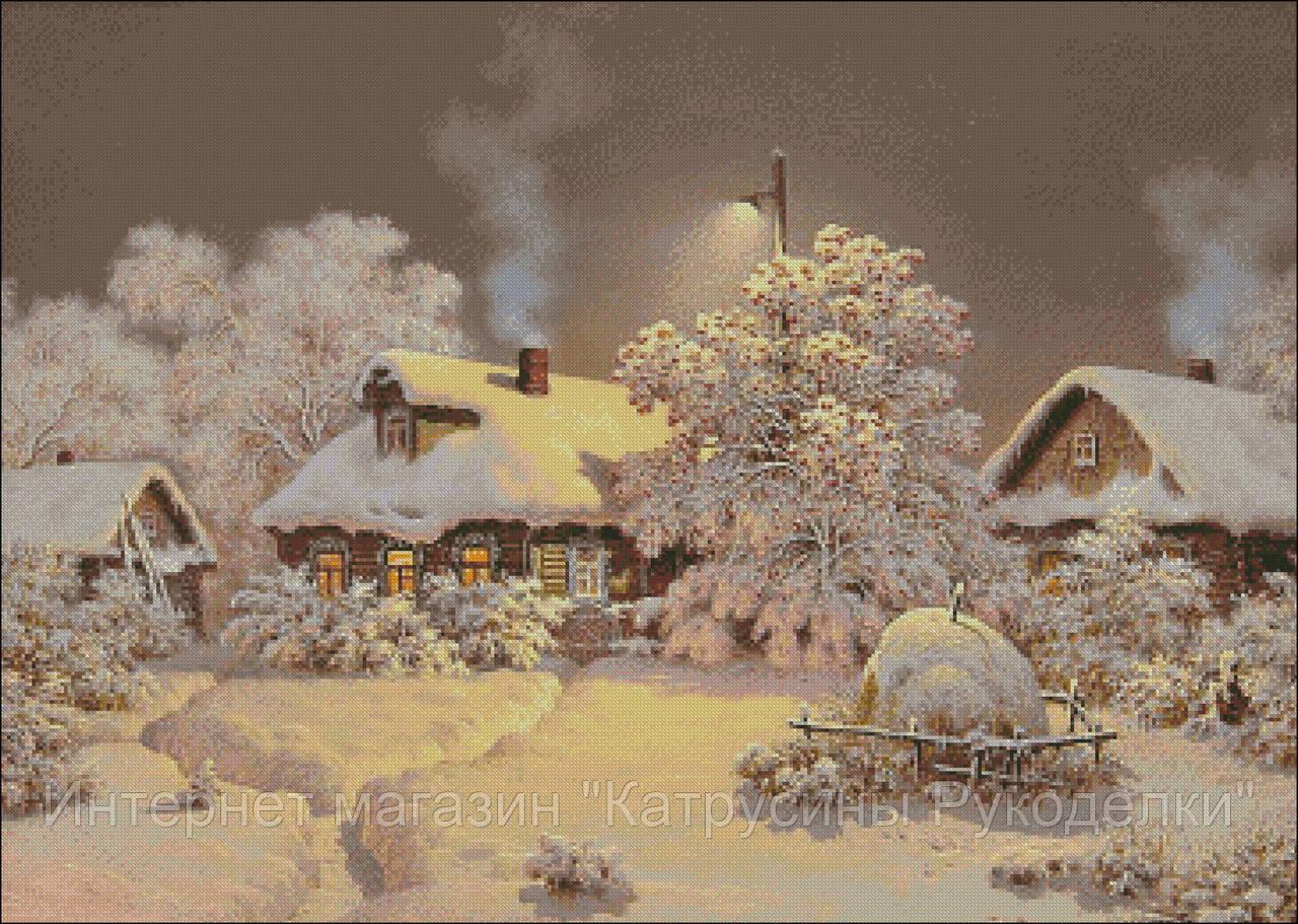 """Набор для вышивания - """"Шоколадная ночь"""" , фото 1"""