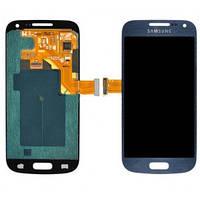 Дисплей (LCD) Samsung i8190 Galaxy S3 mini с сенсором синий