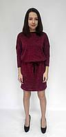 Платье Еasy бордовое