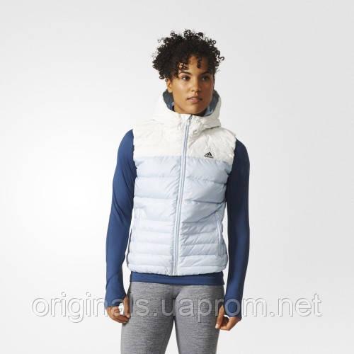 Спортивный жилет с капюшоном для женщин Adidas Cozy BR6912 - 17 - интернет-магазин Originals - Оригинальный Адидас, Рибок в Киеве
