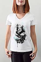 """Женская футболка """"Мерлин Монро"""""""